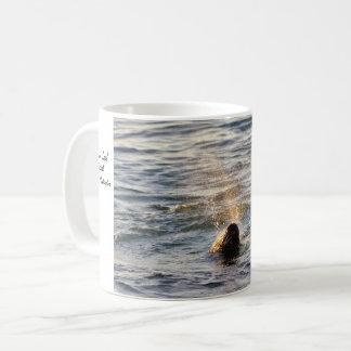Harbor Seal Spouting Water Mug