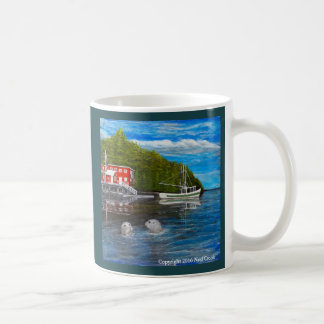 Harbor Seals at Telegraph Cove. Coffee Mug