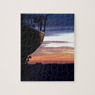 Harbor Sunrise Jigsaw Puzzle