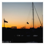 Harbor Sunset 2 Art Photo