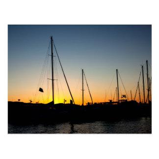 Harbor Sunset 2 Postcard