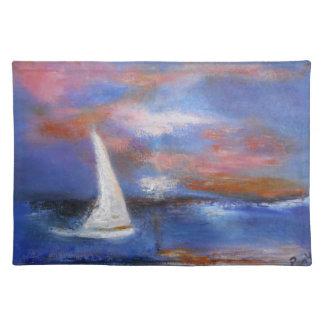Harbor Sunset Sail Placemat