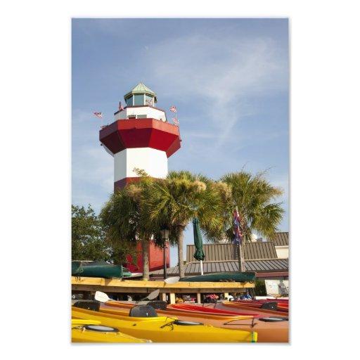 Harbor Town Hilton Head Wall Print Photograph