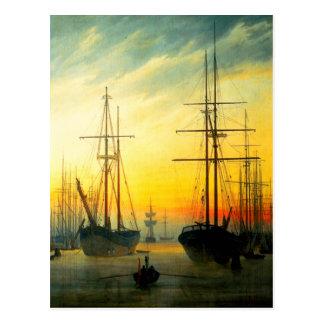 Harbor View- Friedrich Postcard