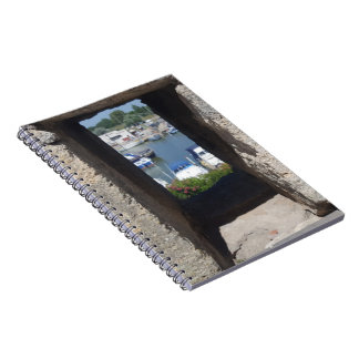Harbor View Spiral Notebook