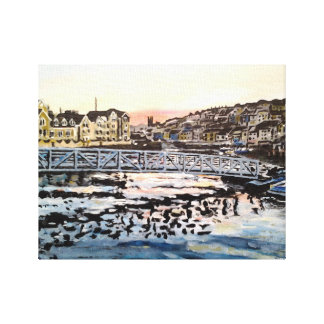 Harbour 7 wrapped canvas print