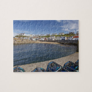 Harbour, Findochty, Moray, Scotland, United Jigsaw Puzzle