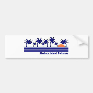 Harbour Island, Bahamas Bumper Sticker