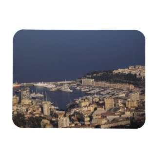 Harbour, Monte Carlo, French Riviera, Cote d' 2 Rectangular Photo Magnet