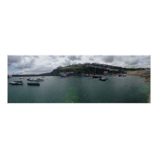 Harbour Panoramic Poster (91.4 cm x 30.5 cm)