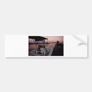 Harbour Sunset, St Joseph Island Bumper Sticker