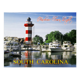 Harbour Town Lighthouse, Hilton Head Island, SC Postcard