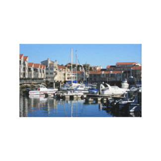 Harbour View at Port St Francis Canvas Print
