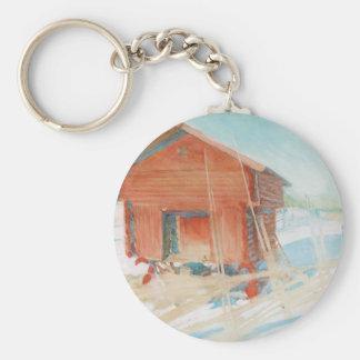 Harbre i Vintersol Key Ring