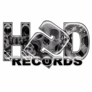 Hard 2 Die Records Keychain Photo Sculpture Key Ring