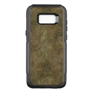 Hard Brown Textured Stone OtterBox Commuter Samsung Galaxy S8+ Case