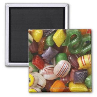 Hard candy, full frame square magnet