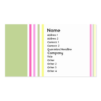 Hard Candy Pack Of Standard Business Cards