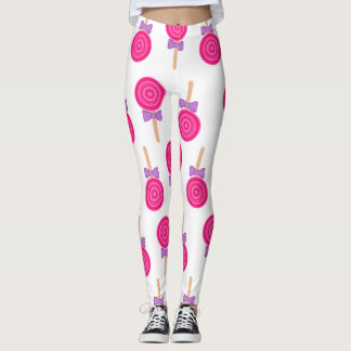 Hard Candy Pattern Leggings