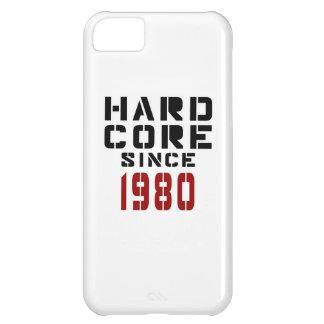 Hard Core Since 1980 iPhone 5C Case