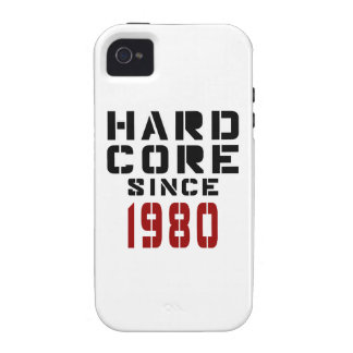 Hard Core Since 1980 Vibe iPhone 4 Cover
