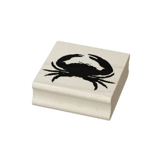 Hard-Crab-Rubber Stamp_Multi Colours _Ink Rubber Stamp