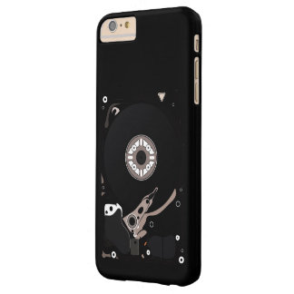 Hard Disc Drive Barely There iPhone 6 Plus Case