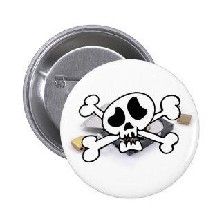 Hard disk protection broken button