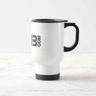Hard Drive 13 Logo Travel Stainless Steel Travel Mug