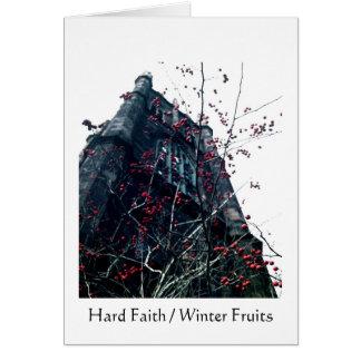 Hard Faith / Winter Fruits Card