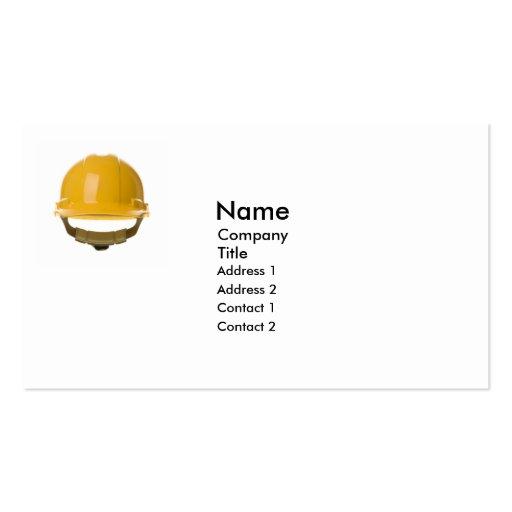 Hard Hat Business Card
