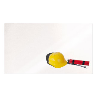 Hard hat dynamite pack of standard business cards
