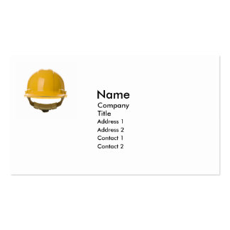 Hard Hat Pack Of Standard Business Cards