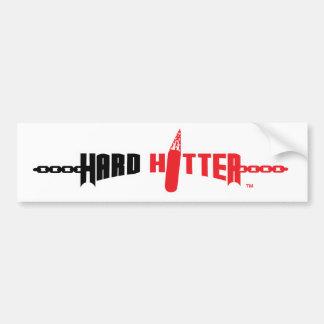 Hard Hitter Logo Bumper Sticker