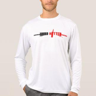 Hard Hitter Logo Micro-Fibre Long Sleeve Tee Shirt