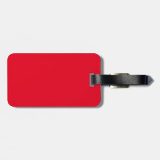 HARD IN THE PAINT LUGGAGE TAG