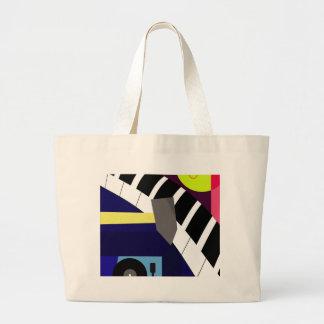 Hard Large Tote Bag