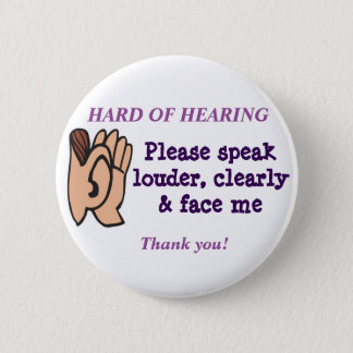 Hard of Hearing Badge