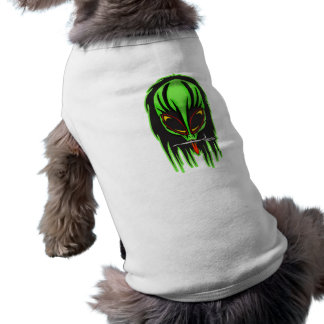 Hard Rock Alien Band Member Sleeveless Dog Shirt