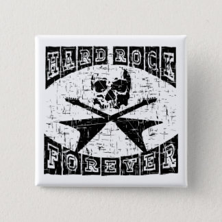 hard rock forever 15 cm square badge