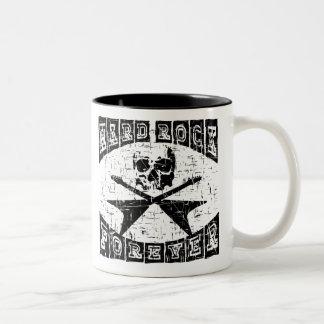 hard rock forever Two-Tone coffee mug