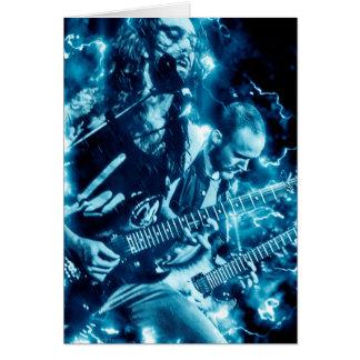 Hard Rock Heavy Metal Band Birthday Card