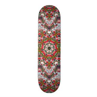 Hard-Rock Maple Skateboard (Red Hop)