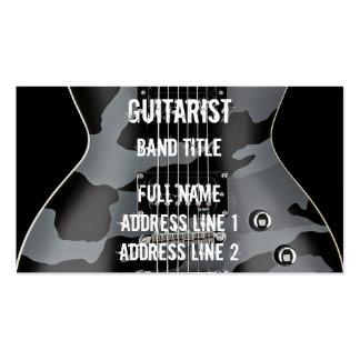 Hard Rock/Metal Musician Pack Of Standard Business Cards