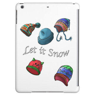 Hard shell iPad Mini Case, let it snow