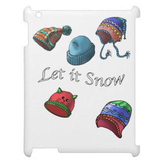 Hard shell iPad Mini Case, let it snow Cover For The iPad
