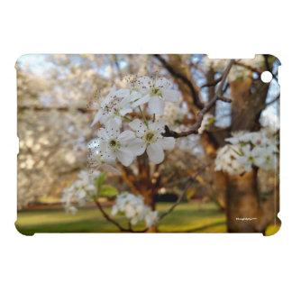 Hard Shell iPad Mini Case Spring Flowers Tree Sun