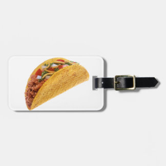 Hard Shell Taco Luggage Tag