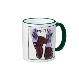 hard shoes, Step it Up Ringer Mug