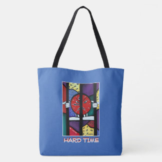 Hard Time  - Blue  - Time Pieces Tote Bag